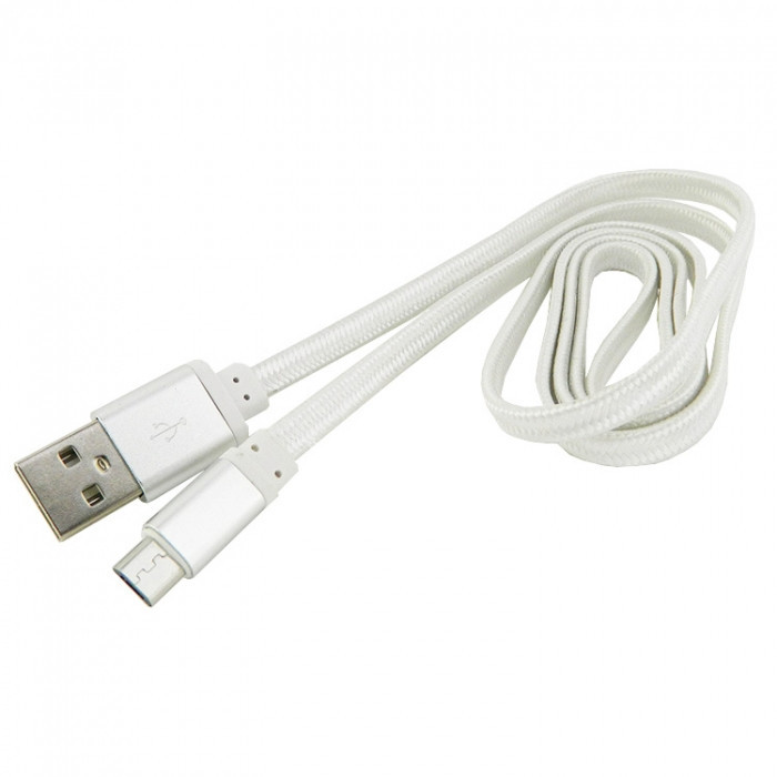 Дата кабель Walker C330 micro USB to USB 1 м White (hub_OzXY87560)