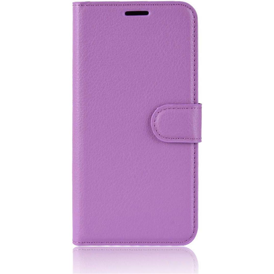 Чехол-книжка Litchie Wallet для Motorola One Zoom Violet (hub_dlCL72628)