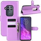 Чехол-книжка Litchie Wallet для Motorola One Zoom Violet (hub_dlCL72628), фото 2