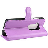 Чохол-книжка Litchie Wallet для Motorola One Zoom Violet (hub_dlCL72628), фото 4