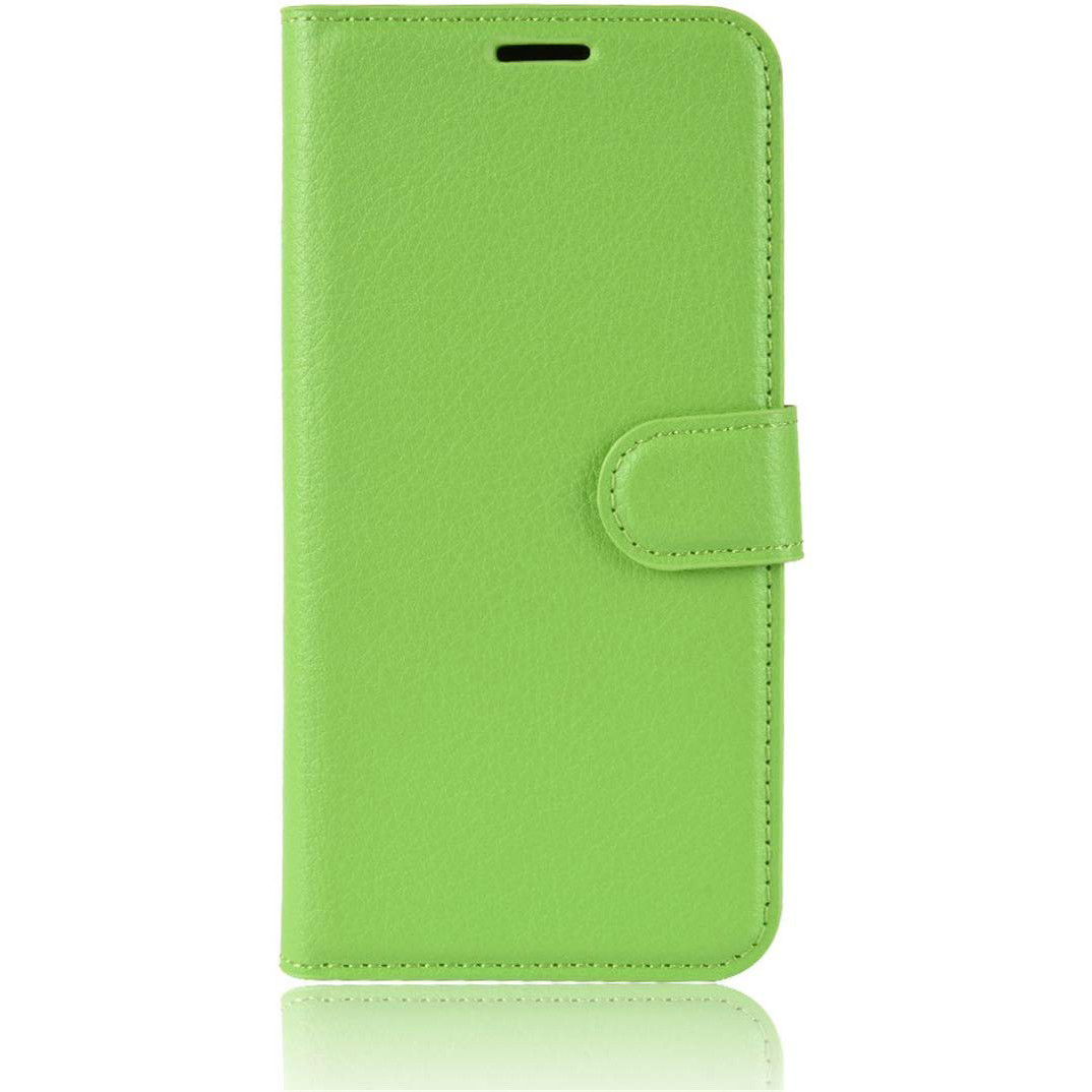 Чехол-книжка Litchie Wallet для Motorola One Zoom Green (hub_ogDo52931)