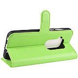 Чехол-книжка Litchie Wallet для Motorola One Zoom Green (hub_ogDo52931), фото 4