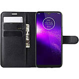 Чохол-книжка Litchie Wallet для Motorola One Macro / Moto G8 Play Black (hub_ZtXx91344), фото 6