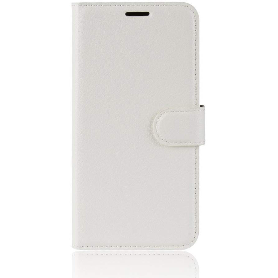 Чохол-книжка Litchie Wallet для Motorola One Macro / Moto G8 Play White (hub_aGIy58187)