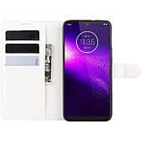 Чохол-книжка Litchie Wallet для Motorola One Macro / Moto G8 Play White (hub_aGIy58187), фото 6
