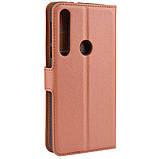 Чехол-книжка Litchie Wallet для Motorola One Macro / Moto G8 Play Brown (hub_LPMK54714), фото 3