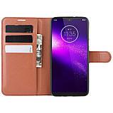 Чехол-книжка Litchie Wallet для Motorola One Macro / Moto G8 Play Brown (hub_LPMK54714), фото 5
