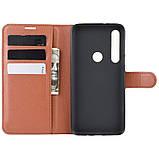 Чехол-книжка Litchie Wallet для Motorola One Macro / Moto G8 Play Brown (hub_LPMK54714), фото 6