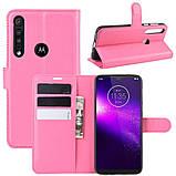 Чехол-книжка Litchie Wallet для Motorola One Macro / Moto G8 Play Rose (hub_Vhhq88393), фото 2