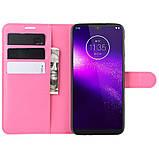 Чехол-книжка Litchie Wallet для Motorola One Macro / Moto G8 Play Rose (hub_Vhhq88393), фото 3