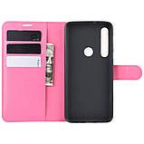 Чехол-книжка Litchie Wallet для Motorola One Macro / Moto G8 Play Rose (hub_Vhhq88393), фото 6