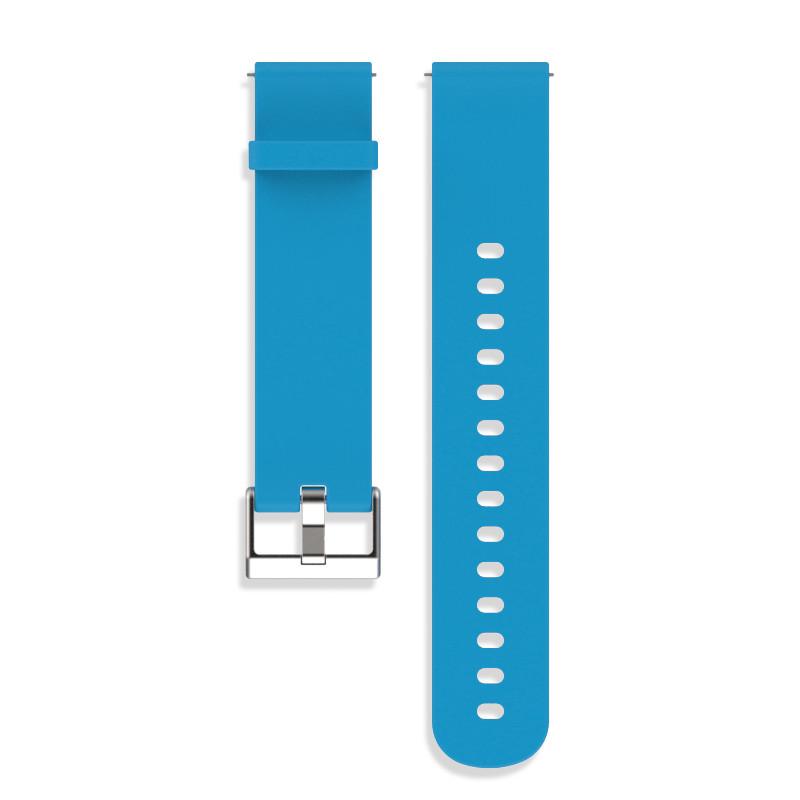 Ремінець BeWatch Standard для Samsung Galaxy Watch Active Блакитний (1010410.2)