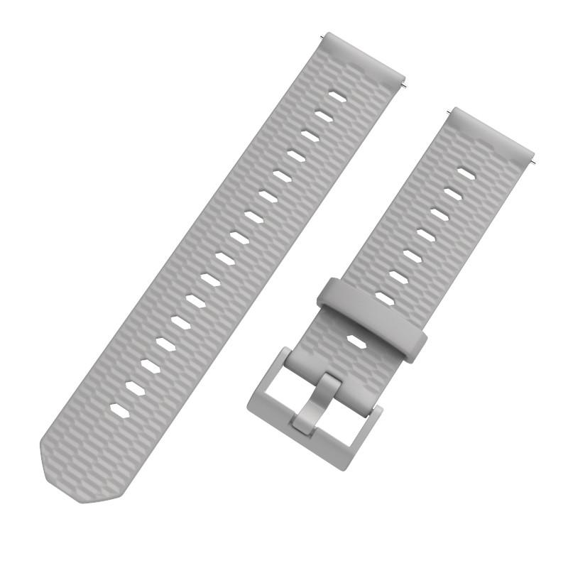 Ремешок BeWatch Wave для Samsung Galaxy Watch 42mm Светло-серый (1011802.2)