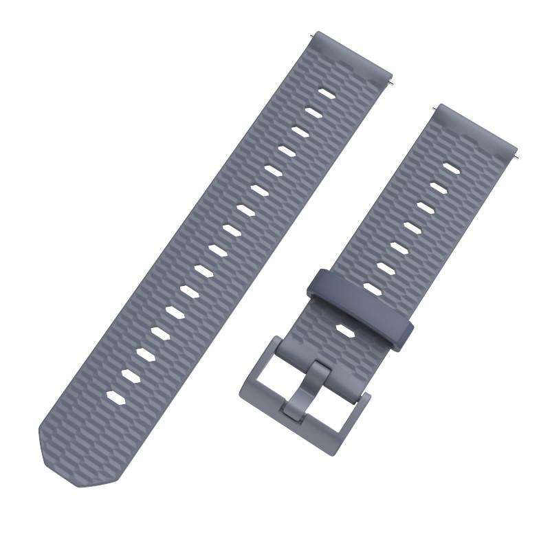 Ремінець BeWatch Wave для Samsung Galaxy Watch Active Сірий (1011804.1)
