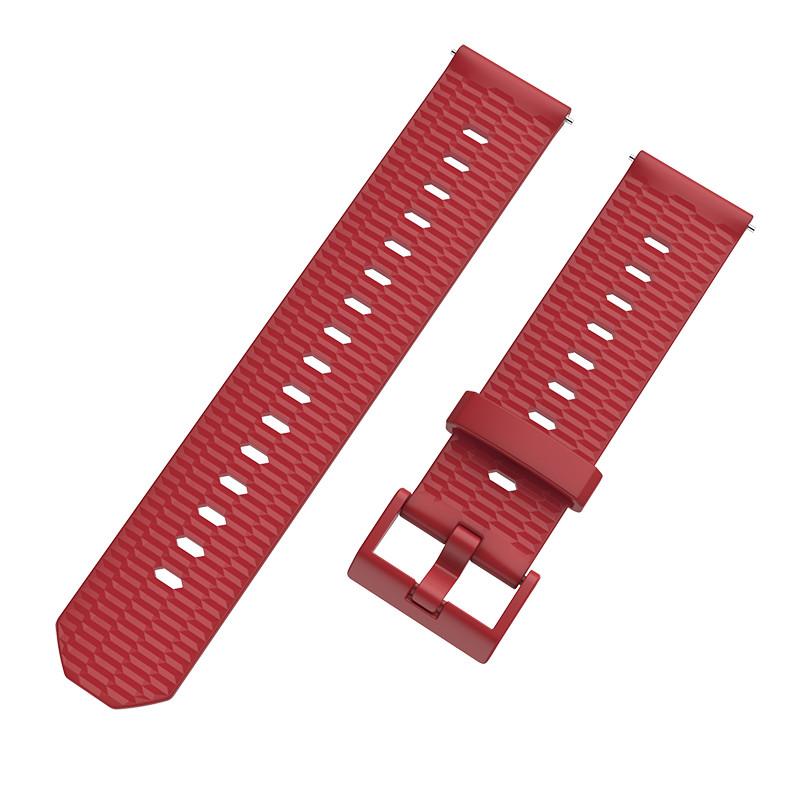 Ремінець BeWatch Wave для Samsung Galaxy Watch 42mm Червоний (1011803.2)