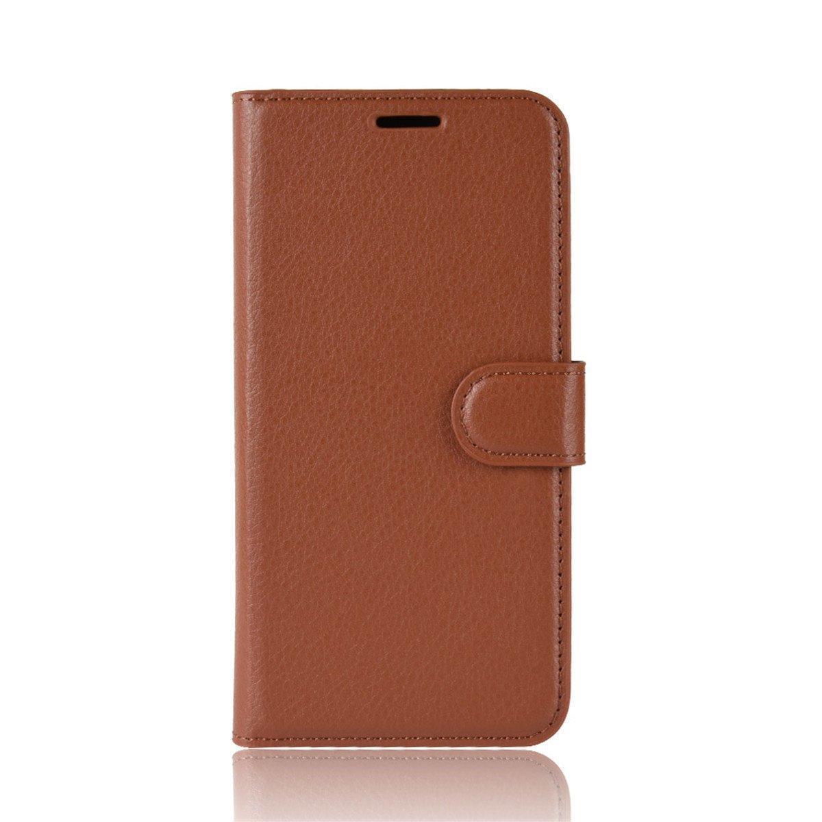 Чехол-книжка Litchie Wallet для Doogee N10 Brown (hub_CVqe07608)