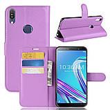 Чехол-книжка Litchie Wallet для Asus Zenfone Max Pro M1 ZB601KL / ZB602KL Violet (hub_xkEy64462), фото 2