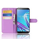 Чехол-книжка Litchie Wallet для Asus Zenfone Max Pro M1 ZB601KL / ZB602KL Violet (hub_xkEy64462), фото 6