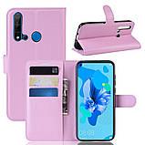 Чохол-книжка Litchie Wallet для Huawei P20 Lite 2019 / Nova 5i Pink (hub_eZFE21281), фото 2