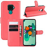 Чехол-книжка Litchie Wallet для Huawei Mate 30 Lite / Nova 5i Pro Red (hub_sfRu97096), фото 2