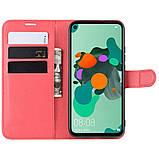 Чехол-книжка Litchie Wallet для Huawei Mate 30 Lite / Nova 5i Pro Red (hub_sfRu97096), фото 4
