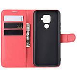 Чехол-книжка Litchie Wallet для Huawei Mate 30 Lite / Nova 5i Pro Red (hub_sfRu97096), фото 5