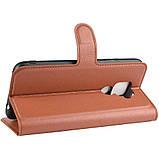 Чохол-книжка Litchie Wallet для Huawei Mate 30 Lite / Nova 5i Pro Brown (hub_tQsV10303), фото 3