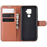 Чохол-книжка Litchie Wallet для Huawei Mate 30 Lite / Nova 5i Pro Brown (hub_tQsV10303), фото 4