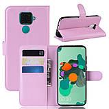 Чехол-книжка Litchie Wallet для Huawei Mate 30 Lite / Nova 5i Pro Pink (hub_MHRU18849), фото 2