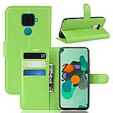 Чехол-книжка Litchie Wallet для Huawei Mate 30 Lite / Nova 5i Pro Green (hub_BMhC78632), фото 2