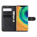 Чохол-книжка Litchie Wallet для Huawei Mate 30 Pro Black (hub_dueP55530), фото 5