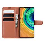 Чохол-книжка Litchie Wallet для Huawei Mate 30 Pro Brown (hub_hjPK90535), фото 5