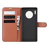 Чохол-книжка Litchie Wallet для Huawei Mate 30 Pro Brown (hub_hjPK90535), фото 6