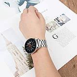 Стальной ремешок BeWatch 20 мм для Samsung Galaxy Watch 42 мм Серебристый (1110405), фото 6