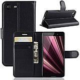 Чехол-книжка Litchie Wallet для Sony Xperia Ace / XZ4 Compact Black (hub_RpwY10668), фото 2