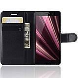 Чехол-книжка Litchie Wallet для Sony Xperia Ace / XZ4 Compact Black (hub_RpwY10668), фото 4
