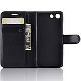 Чехол-книжка Litchie Wallet для Sony Xperia Ace / XZ4 Compact Black (hub_RpwY10668), фото 5