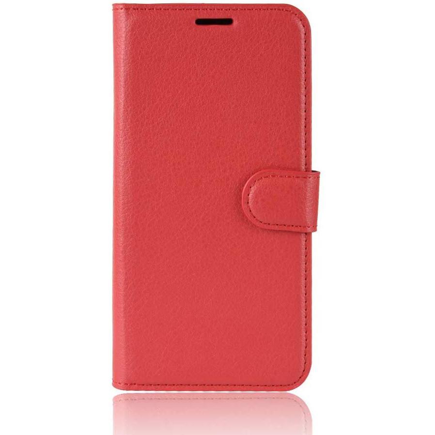 Чехол-книжка Litchie Wallet для Sony Xperia Ace / XZ4 Compact Red (hub_qhqd37970)