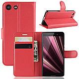 Чехол-книжка Litchie Wallet для Sony Xperia Ace / XZ4 Compact Red (hub_qhqd37970), фото 2