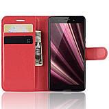 Чехол-книжка Litchie Wallet для Sony Xperia Ace / XZ4 Compact Red (hub_qhqd37970), фото 4
