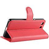 Чехол-книжка Litchie Wallet для Sony Xperia Ace / XZ4 Compact Red (hub_qhqd37970), фото 5
