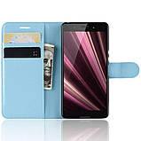 Чохол-книжка Litchie Wallet для Sony Xperia Ace / XZ4 Compact Blue (hub_tiYW90546), фото 4