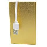 Ультратонкий Power bank Strong PB-201 Gold 10400 mAh (1029-10377), фото 5