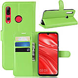 Чехол-книжка Litchie Wallet для Huawei P Smart Plus 2019 / Honor 10i Green (hub_NukP74089), фото 2