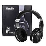 Bluetooth гарнітура Bluedio HT Black (1148-2553), фото 8