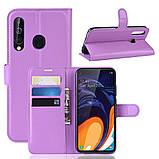 Чохол-книжка Litchie Wallet для Samsung A606 Galaxy A60 Violet (hub_XBQd31805), фото 2
