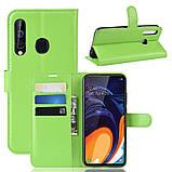 Чехол-книжка Litchie Wallet для Samsung A606 Galaxy A60 Green (hub_yMSl26244), фото 2