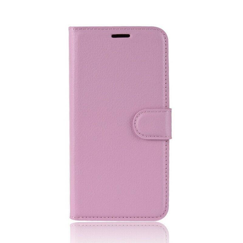 Чехол-книжка Litchie Wallet для Samsung Galaxy A80 / A90 Pink (hub_KdRH17510)