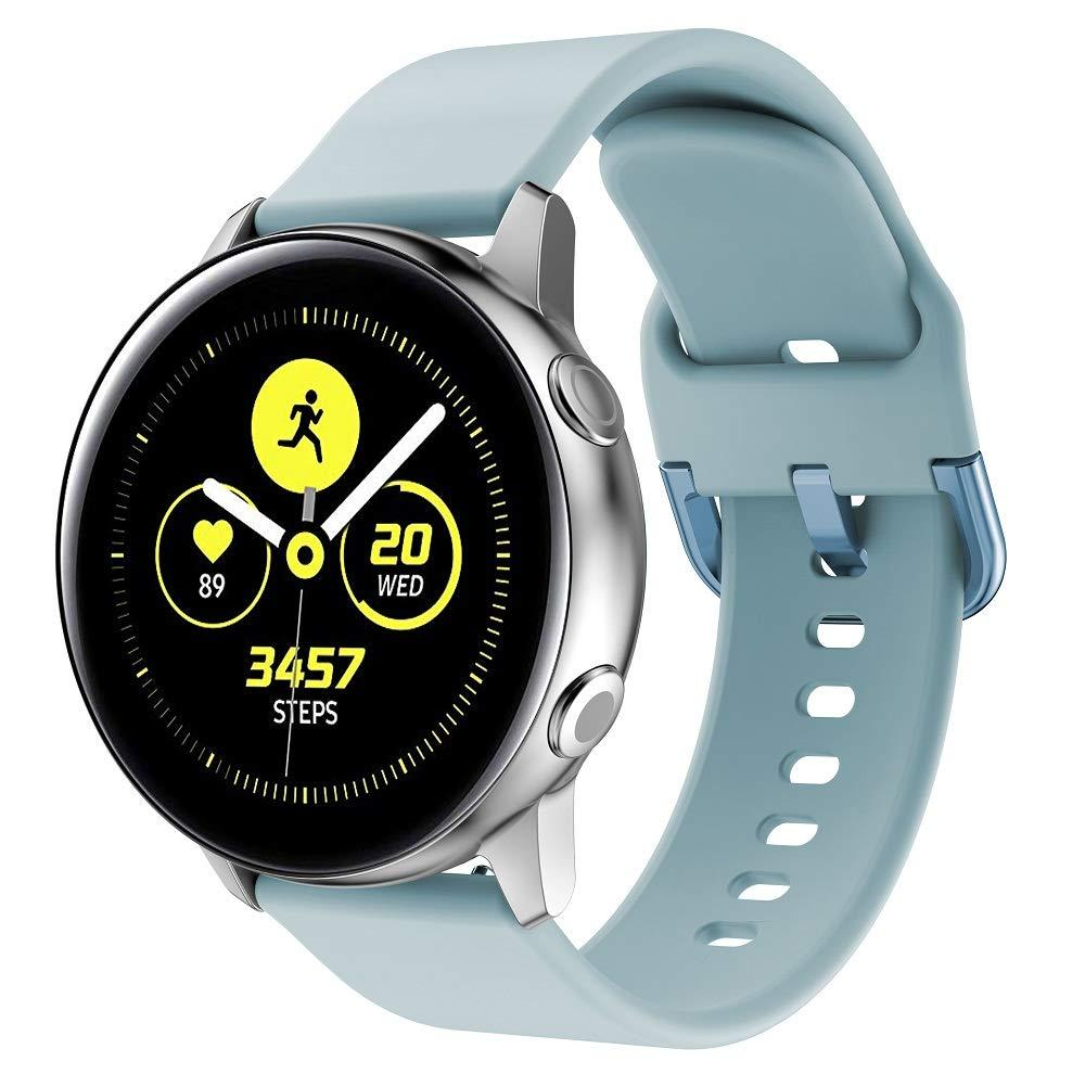 Ремінець BeWatch New для Samsung Galaxy Watch Active / Active 2 20 мм М'ятний (1012397)