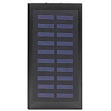 Power bank c сонячною панеллю для зарядки Cube 20000 mAh Black (258-10648)